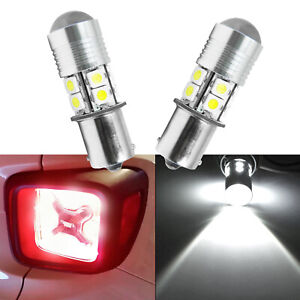 1156 White 10 Smd Projector Led Bulbs For Jeep Renegade Rear Turn Signal 15 18