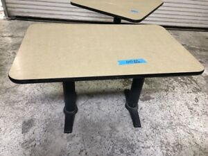 30 X 48 Dinner Table On Stand Heavy Duty Base 1774 Commercial Restaurant Dining