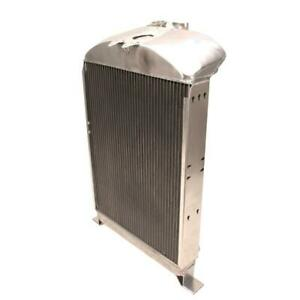 Griffin 7 70094 Dlx Alum Radiator For 1933 34 Ford Chassis W Flathead