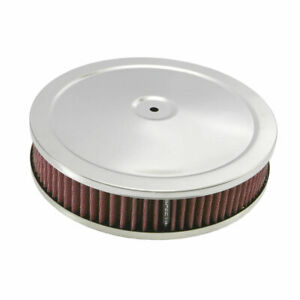 Spectre 47708 Air Filter Assembly 2in Tall Red Round