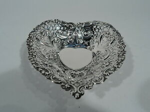 Gorham Dish 966 Valentine S Day Heart Bowl Gift American Sterling Silver