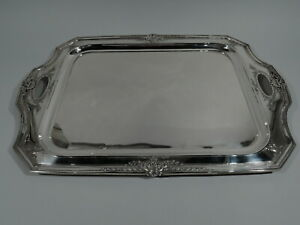 Reed Barton Heritage Tray 940c Antique Tea American Sterling Silver
