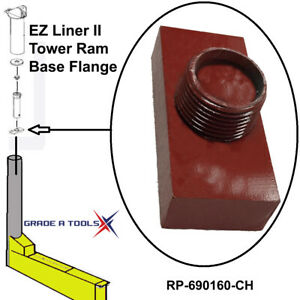 Chief Ez Liner Ii Frame Machine Tower Base Ram Flange 690160