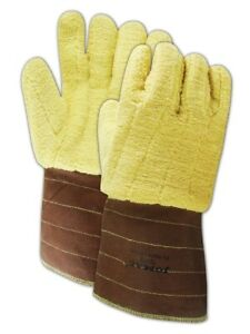 Wells Lamont Industrial 625jom Kevlar Terrycloth High heat X large Gloves Pair