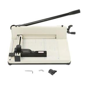 13 Inch A4 Paper Cutter Guillotine Trimmer Cutting Machine Heavy Duty 400 Sheets