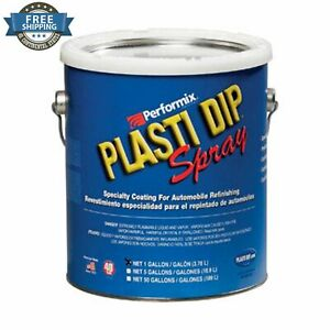 Plasti Dip Clear Coating Spray 1 Gallon Thermoplastic Performix Rubber Peelable