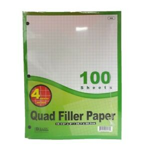 New 801145 Quad Filler Paper 100 Sheets 36 pack Office Supply Cheap Wholesale