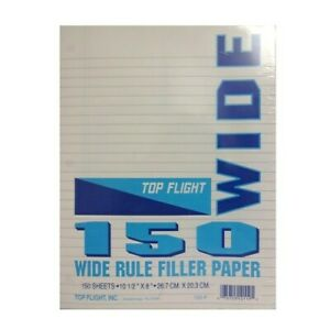 New 822109 Filler Paper 150ct W r 24 pack Office Supply Cheap Wholesale