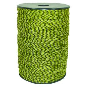 2624 Ft Polywire Stainless Steel Wire Livestock Poultry Fence Yellow Black New