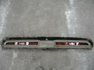 1971 Dodge Challenger Tail Light Panel Trim Bezel And Taillights Assembly