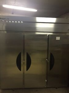 Victory 3 Door Side By Side Commercial Kitchen Refrigerator Vr 3 115v W Wheels