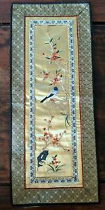 Chinese Vintage Silk Embroidery 23 10