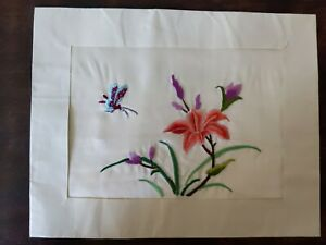 Chinese Vintage Silk Embroidery