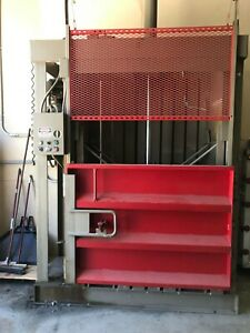 60 Used Cardboard Baler In Excellent Condition Perfect Working Order