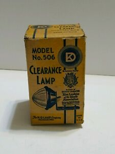 Vintage K d Co Clearance Lamp In Original Box Nos Hot Rod Motorcycle Project