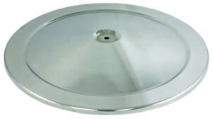 Polished Stainless Steel Retro 14 Round Air Cleaner Top Lid Only Chevy Ford