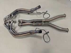 97 04 Corvette C5 Borla Long Tube Headers X Pipe Stainless Xr 1