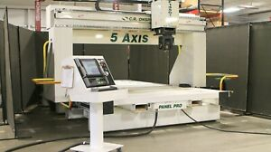 C r Onsrud Model F145g15w10 5 axis Pro Series Cnc Router