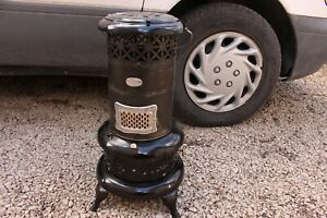Vintage Antique Perfection Smokeless Oil Heater Cabin Home Decor Kerosene