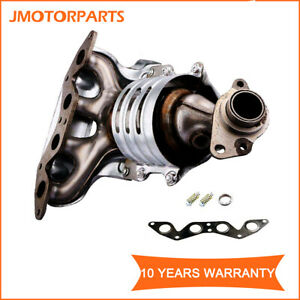 Catalytic Converter Exhaust Manifold For 2001 2005 Honda Civic 1 7l 4 Cylinder