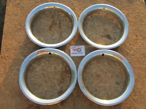 1970 S 80 S Chevy Gmc 15 Pickup Truck Rally Wheel 15 Trim Rings Beauty Rings