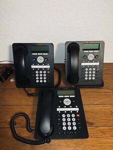 Avaya Model 1408 Digital Ip Business Icon Global Phone Lot Of 3