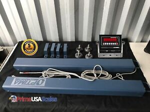 Livestock Scale Weigh Bars Chute 10 000 Lb Cattle Scale Portable Scale 40 X 4
