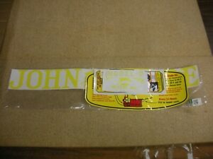 John Deere Model D Unstyled Tractor Decal Set New Free Shipping