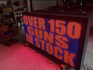 Optec Full Color Led Sign