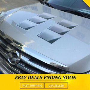 3d Decoration Hood Fender Vent Air Stikcer Decal Car Part Accessories 1pack Diy