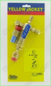 Yellow Jacket 93851 Superevac Evacuation Manifold New