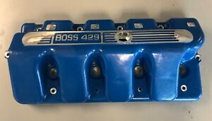 Ford Boss 429 460 Valve Covers Blue Pair