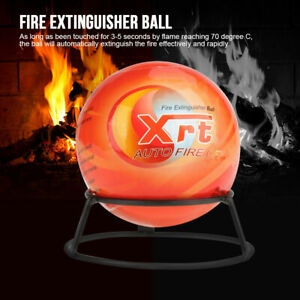 Shape Fire Extinguisher Ball Area Cubic Meter Mounting Bracket Self activation