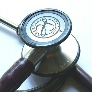 Littmann Cardiology Iii Iii 3 Stethoscope Plum New Diaphragm And Ear Tips