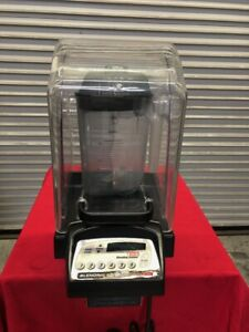 Commercial Blender With Sound Enclosure Cover Vita mix Vm0116e 1855 Heavy Duty