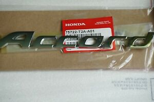 Honda Accord Word Nameplate Emblem Trunk Rear Badge Logo 75722 T2a A01 Letter Ex