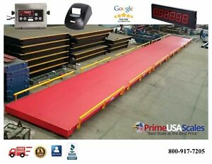 Heavy Duty Truck Scale 200 000 Lb X 20 Lb ntep Legal For Trade 70 X 10