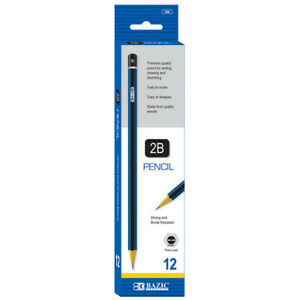 New 402358 2b Premium Wood Pencil 12 Pack 24 pack Pencil Cheap Wholesale