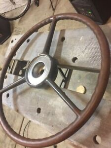 Packard Junior 110 120 Prewar Steering Wheel Vintage Original 1939 1940 Rare