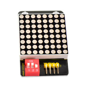 Keyestudio Ht16k33 8x8 Led Dot Matrix Display Addressable Module For Arduino