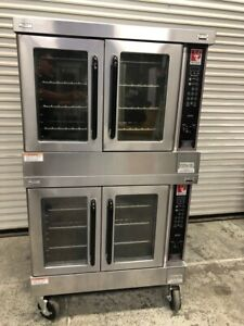 Double Stack Gas Convection Bakery Oven Wolf Wkgcx 1876 Commercial Bake Nsf