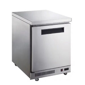 29 Inch Under Counter Undercounter Freezer Chef Base Commercial Kitchen Nsf