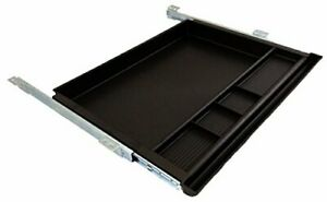 Pencil Drawer By Nycco 23 Inch Wide Underdesk Drawer Black