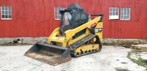 2015 Caterpillar 299d2 Xhp Track Skid Steer Loader Cat 299 299d
