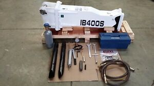 Hydraulic breaker icm Ib 400 S Type For Excavator Or Backhoe 2 5 To 4 5 Ton