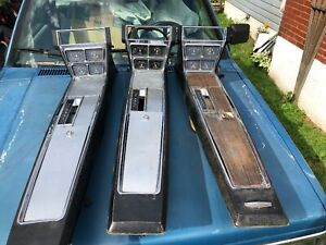 1966 1967 Chevy Impala Caprice Super Sport Oem Automatic Console With Gauges
