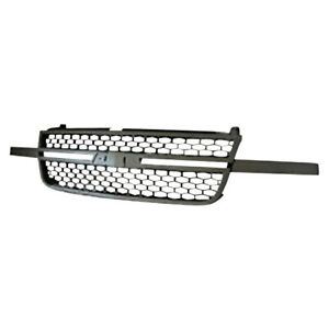 Gm1200586 New Grille Fits 2006 2006 Chevrolet Silverado