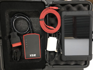Used Vdm Wifi Obd2 Tablet Scanner Full System Abs Srs Epb Scan Diagnostic Tool