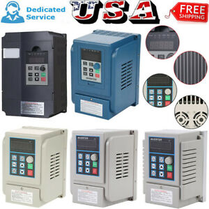 Ac 220v 380v Single Phase 3 phase Variable Frequency Drive Inverter Motor Vfd Us