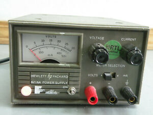 Hewlett Packard Hp 6216a 0 25v 0 0 4a Variable Dc Power Supply Load Tested
